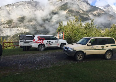 Rescate en montaña Bujaruelo