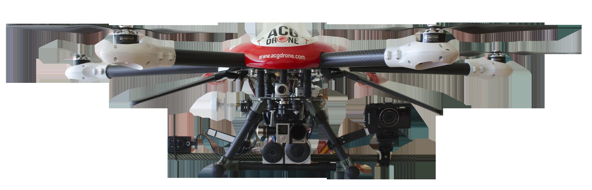 Nuestros drones - Multirrotor Sky Hero