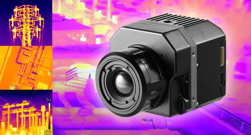 Industria - imágenes con sensor térmico