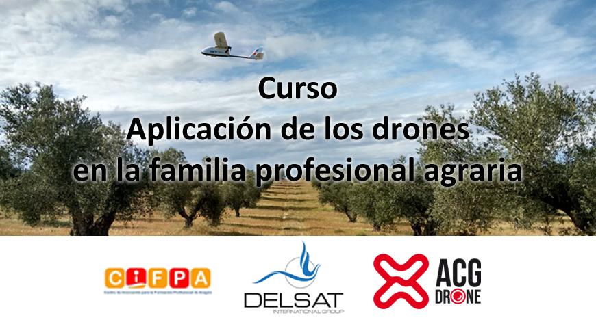 Formación: Drones como herramienta para la FP Profesional Agraria