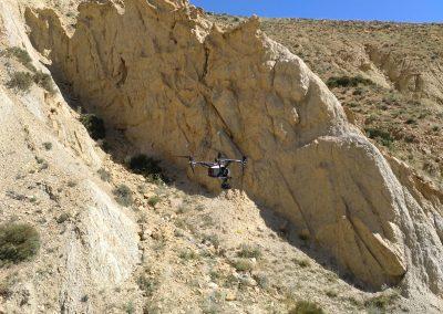 ACG Drone_Paleontología_Yacimiento Paleontológico Megaplanolites Bueña_Arqueología