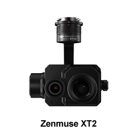 Sensores: DJI Zenmuse XT2 sensor dual